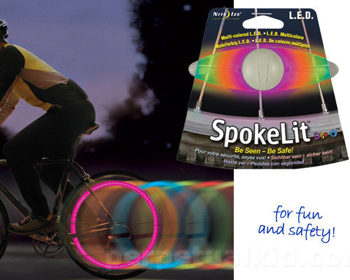 Nite Ize: SPOKELIT COLOR CHANGING WHEEL LIGHT