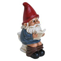Garden Gnome on the Throne - Whimsical & Unique Gift Ideas for the Coolest Gift Givers