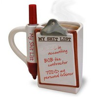 Shit List Mug - Whimsical & Unique Gift Ideas for the Coolest Gift Givers