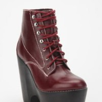 UrbanOutfitters.com > Jeffrey Campbell Solid Leather Tardy Boot