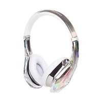 Diamond Tears Edge On-Ear Headphones (Crystal): Electronics