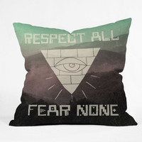 DENY Designs Home Accessories | Wesley Bird Fear None Throw Pillow
