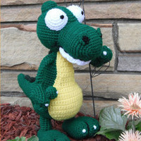 Buy Alex Gator pattern - AmigurumiPatterns.net