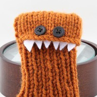 Monster iPhone/iPod cozy - Rust
