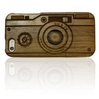 Carved Wood iPhone 5 Case
