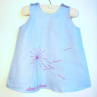 French Dandelion Dress/Jumper by chocolatineboutique