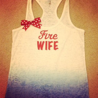 Fire Wife Ombre Burnout