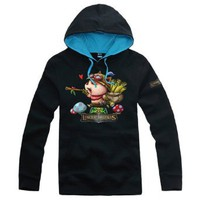 Amazon.com: League of Legends Hero Hoodie Teemo Jacket Top Coat Cotton Cosplay Costume: Clothing