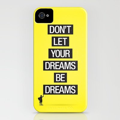 Dreams Be Dreams iPhone Case by Young Davis | Society6