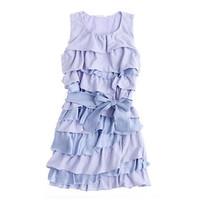 Girls' Rosalie twisted dress - party - Girl's dresses - J.Crew