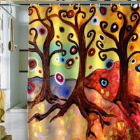 Natasha Wescoat Trinitary Shower Curtain
