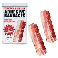 Bacon Strips Bandages - Whimsical &amp; Unique Gift Ideas for the Coolest Gift Givers