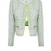 CHANEL STYLE TWEED JACKET