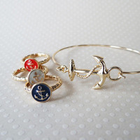Set Sail ~ Freebie Friday | anchor ring or bracelet from JuicyDealz