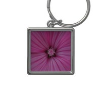 Pink Morning Glory ~ Macro Photography Key Chain from Zazzle.com