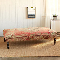 TOPKAPI TURKISH CARPET OTTOMAN