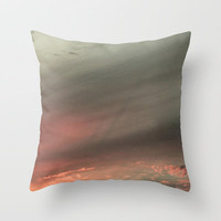 Volcanica Grey Throw Pillow by RichCaspian | Society6