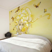 Yuuta Mural by Camilla d&#x27;Errico from Wallpaper Republic | Made By Wallpaper Republic | 370.00 | Bouf