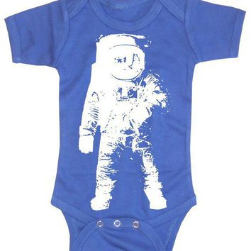 Baby Boy Bodysuit  Astronaut space geek baby by happyfamily