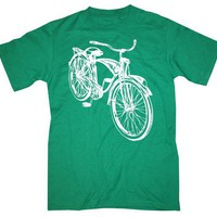 Old School Bike Retro Bicycle Men's T Shirt by happyfamily on Etsy