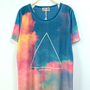 Galaxy and Triangle Tee [155]