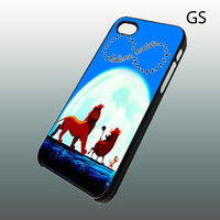 Lion King Hakuna Matata Infinity  Iphone 4 case  by LAVISTASTORE
