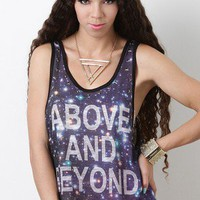 Starlit Galactica Top