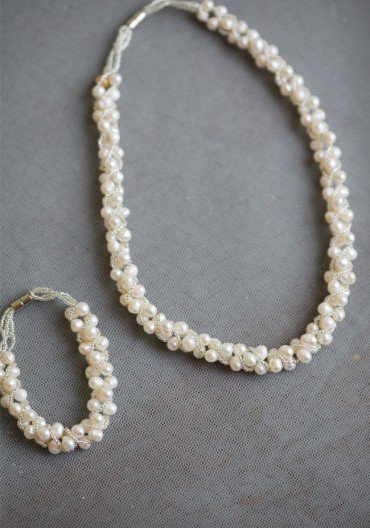 Endless Love Ivory Pearl Necklace | Modern Vintage Jewelry | Modern Vintage Accessories | Modern Vintage Bridal