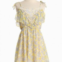 Perpetual Astonishment Floral Dress | Modern Vintage Dresses
