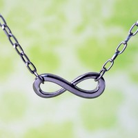 Handmade Gifts | Independent Design | Vintage Goods Dark Infinity Necklace