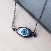 Handmade Gifts | Independent Design | Vintage Goods Evil Eye Necklace