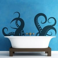 Vinyl Wall Decal Sticker Tentacle OS_MB316-27x60: Home &amp; Kitchen
