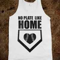 No Plate Like Home (Tank) - Sports Girl