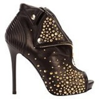 Alexander McQueen : GOLD STUDDED FAITHFUL BOOT