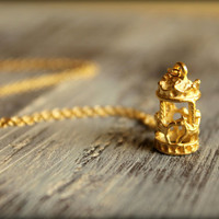 Golden Carousel Necklace