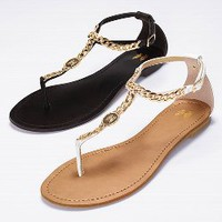 Chain T-strap Flat - VS Collection - Victoria's Secret