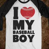 I Love My Baseball Boy - Athletica