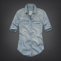 North Jetty Denim Shirt