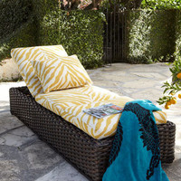"""Zebra"" Outdoor Chaise - Horchow"