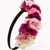 Rose Garland Headwrap