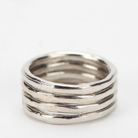 Stackable Midi Ring - Set of 4