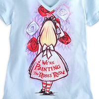 Alice in Wonderland Tee for Women | Disney Store