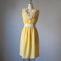 Dress / Bridesmaid / Romantic / Yellow / by AtelierSignature