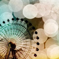 ferris wheel photograph by Sylvia...