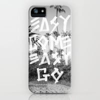 EASY GO iPhone Case by Wesley Bird