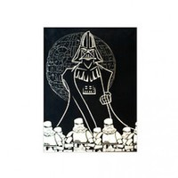 Star Wars Manga Darth and the Storm Troopers Hand Painted Canvas Art 36x48 from The LimitEDition Co. | Made By Geek the Artist | £99.00 | Bouf