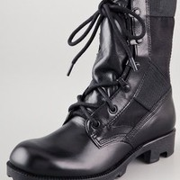 Theyskens' Theory Atta Lace Up Combat Boots | SHOPBOP
