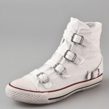 Ash Virgin 4 Buckle Sneakers | SHOPBOP