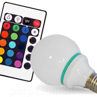 REMOTE CONTROL COLOR CHANGING LIGHT BULB