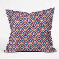 DENY Designs Home Accessories | Bianca Green Aztec Fiber 2 Throw Pillow